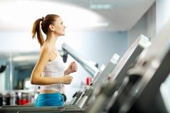 Cardio allenamento Immagine Stock
