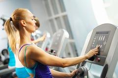 Cardio allenamento Immagini Stock