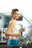 Cardio allenamento Fotografie Stock