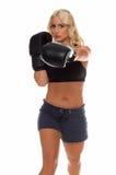 Cardio- boxe Images libres de droits
