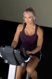Cardio- exercício Imagens de Stock Royalty Free