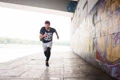 Cardio Exercises outdoors Stock Photo