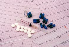 Cardio Medication Stock Photo