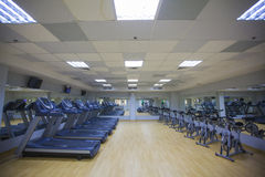 Cardio room Royalty Free Stock Photography