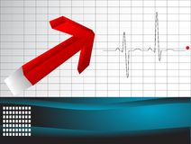 Cardio test Royalty Free Stock Images
