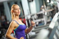 Cardio Training Royalty-vrije Stock Afbeelding