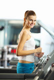Cardio workout Stock Images