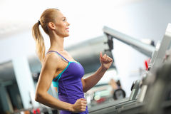 Cardio workout Stock Photography