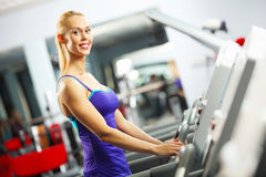 Cardio workout Stock Image