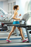 Cardio workout Royalty Free Stock Images
