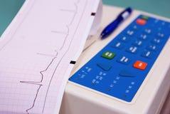 Cardiograaf Royalty-vrije Stock Afbeeldingen