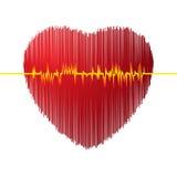 Cardiogram vector illustration