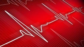 Cardiogram Lizenzfreie Stockfotografie