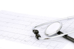 Cardiogram fotografia stock