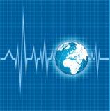 Cardiogram Royalty-vrije Stock Afbeeldingen