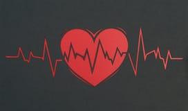 Cardiogram Royalty Free Stock Photo