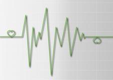 cardiogram Стоковые Изображения RF