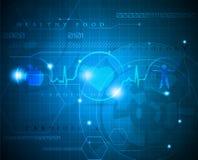 Cardiogram abstrato Imagens de Stock