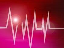 Cardiogram astratto royalty illustrazione gratis