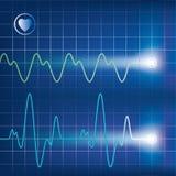 Cardiogram Royalty Free Stock Photos