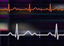 Cardiogram illustration Royalty Free Stock Images