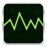 Cardiogram for medical Stock Photos
