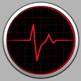 Cardiogram & Radar Royalty Free Stock Image