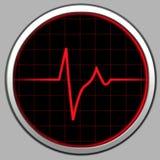 Cardiogram & Radar Royalty Free Stock Image