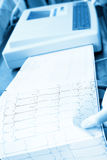 Cardiogram recording Stock Photos