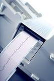 Cardiogram recording. Royalty Free Stock Photos