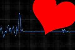 Cardiogram1 Fotos de Stock Royalty Free