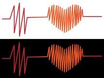 Cardiograma Foto de archivo