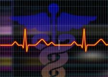 Cardiogramabbildung Stockfotografie