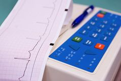 Cardiograph Royalty Free Stock Images
