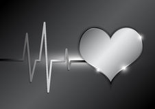 Cardiography background Royalty Free Stock Photography