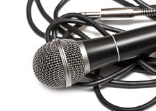 Cardioid microphone Stock Photo