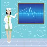 Cardiological clinic Royalty Free Stock Images