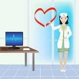 Cardiological clinic Stock Photo