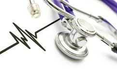 Cardiologieconcept Royalty-vrije Stock Afbeeldingen