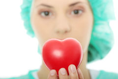 cardiologist Fotografering för Bildbyråer