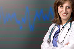 Cardiology Background Stock Images