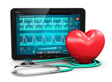 Cardiology concept Stock Images