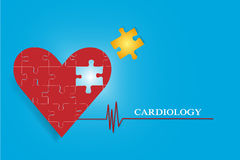 Cardiology concept vector Stock Photography