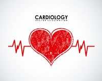 Cardiology design Royalty Free Stock Images