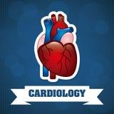 Cardiology design Stock Photos