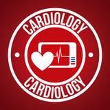Cardiology design Royalty Free Stock Photo