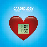 Cardiology design Royalty Free Stock Photography