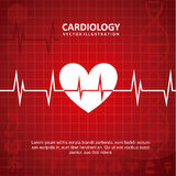 Cardiology design Royalty Free Stock Photo
