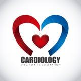 Cardiology icon Royalty Free Stock Photos