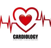 Cardiology icon Stock Photography